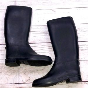 Kids Black Boots size 12.5